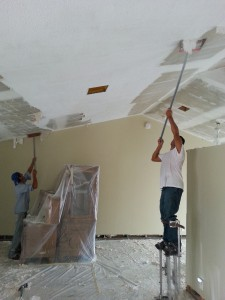 Popcorn Ceiling Removal in West Palm Beach