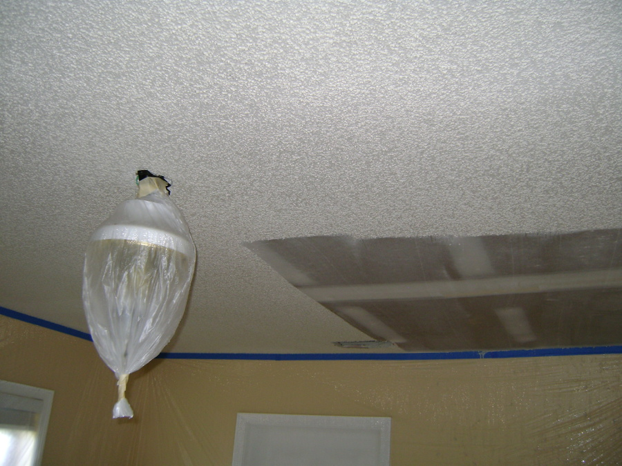 ... Popcorn Ceiling Removal 31 ...