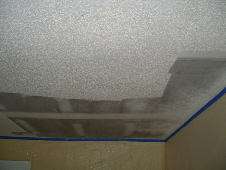 Popcorn Ceiling Removal 41