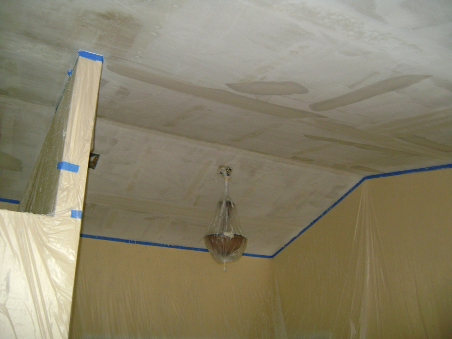 Popcorn Ceiling Removal 61