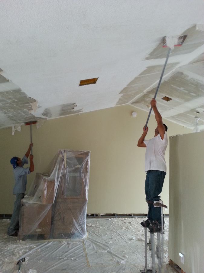 Popcorn Ceiling Removal Popcorn Ceiling Repair West Palm Beach FL