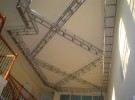 custom ceiling 2 duringA