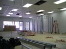 suspended ceiling after